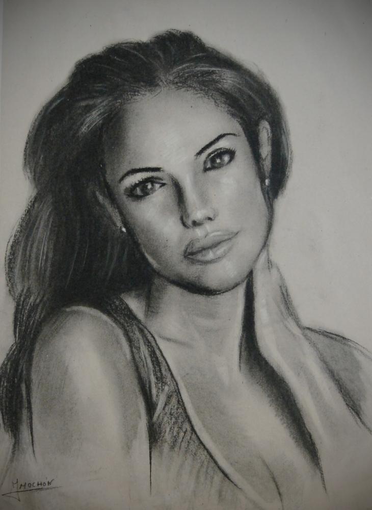 Angelina Jolie by jesusmochon